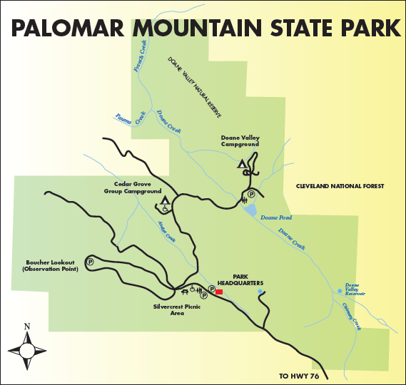 Palomar Map