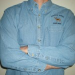 Long Sleeved Jean Shirt